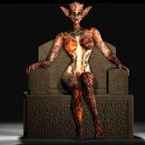 Halloween Creature #03 Royalty Free Stock Image