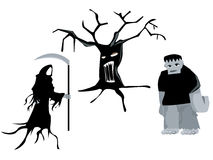 Halloween Creatures Royalty Free Stock Images