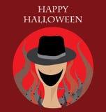 Halloween Creepy Monster Vector Royalty Free Stock Photos