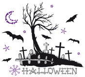 Halloween, creepy night Stock Photography