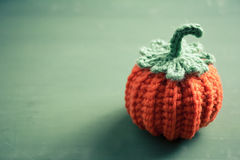 Halloween crochet for home decorating Royalty Free Stock Images