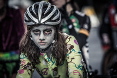 Halloween Cross Crusade Cyclocross Royalty Free Stock Images