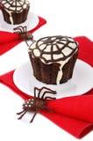 Halloween cupcake Stock Image
