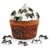 Halloween cupcake Stock Photography