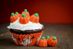 Halloween cupcake Stock Photos