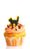 Halloween cupcake with frosting Stock Photo