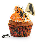 Halloween cupcake Royalty Free Stock Photo