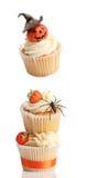 Halloween Cupcakes stock foto's