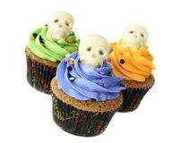 Halloween cupcakes Royalty Free Stock Image