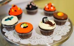 Halloween cupcakes Stock Foto