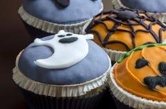 Halloween cupcakes Stock Image