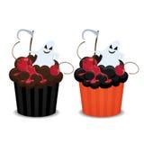 Halloween cupcakes. Stock Photography