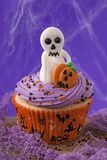Halloween cupcakes Royalty Free Stock Photo
