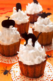Halloween cupcakes Royalty Free Stock Photography