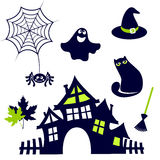 Halloween cute icon Royalty Free Stock Images