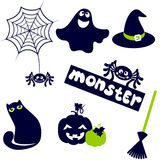Halloween cute icon Royalty Free Stock Photos