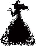 halloween czarownica Zdjęcia Stock