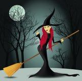 halloween czarownica Zdjęcie Royalty Free