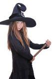halloween czarownica Fotografia Stock