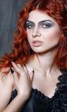 Halloween, czarownica, wampir Zdjęcia Royalty Free