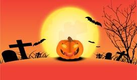Halloween-Dagachtergrond stock illustratie
