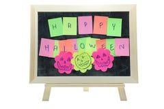 Halloween dal bastone dell'appunto Fotografia Stock