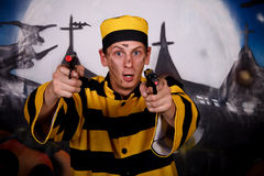 Halloween Dalton character Royalty Free Stock Images