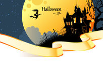 Halloween dark back Stock Photography