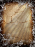 Halloween dark Fire smoke Royalty Free Stock Image