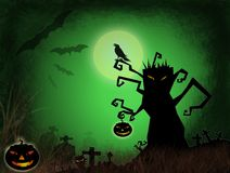 Halloween dark scenery Royalty Free Stock Photography