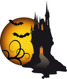 Halloween dark theme Stock Photography