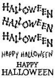 Halloween, das gespenstisch ist und wühlen die eingestellten Fliesen Stockbilder