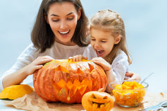 Halloween day Royalty Free Stock Photos