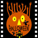 Halloween day in movie film Stock Photography
