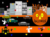 Halloween day vector Royalty Free Stock Images