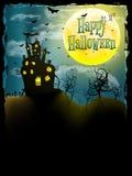 Halloween-de kaart van de partijgroet Eps 10 Stock Afbeeldingen