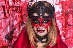 Halloween-de kunst maakt omhoog Royalty-vrije Stock Foto's