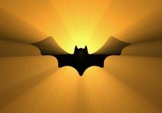 Halloween-de lichte halo van het knuppelontwerp vector illustratie
