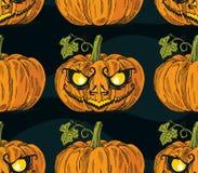 Halloween-de Vlieger van het Pompoengezicht Royalty-vrije Stock Foto's
