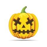 Halloween dead pumpkin Royalty Free Stock Images