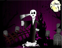 Halloween death vector Stock Photo