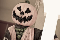 Halloween Decor. With Abstract Treatment For Mood Effect Stock Photography