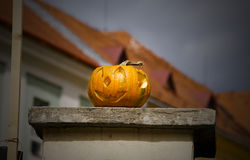 Halloween decoration. On the wall Stock Image