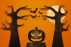 Halloween and decoration concept Stock Photo