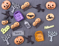 Halloween Decoration Objects Royalty Free Stock Photos