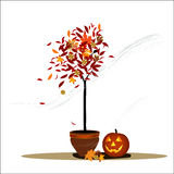 Halloween decoration vector illustration Stock Images