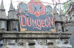 dungeon Stock Photo