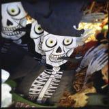 Halloween Decorations Closeup Stock Photography