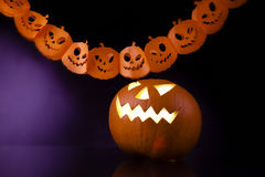 Halloween decorations Stock Images