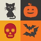 Halloween decorations Royalty Free Stock Image